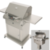 24 inch closed base electric grill
