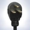 Nema 6-20R Receptacle, 208/220 Volt 20 Amp receptacle
