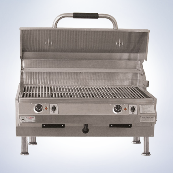 dual outdoor electric grill